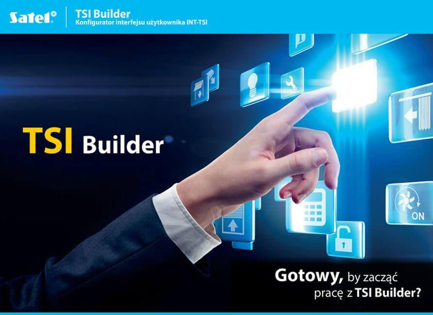 TSI Builder Konfigurator interfejsu użytkownika INT-TSI SATEL