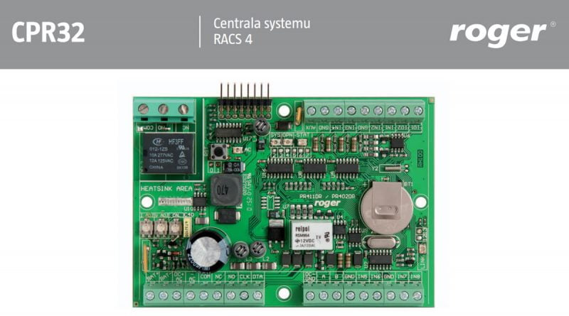 Centrala systemu Rack 4 Roger