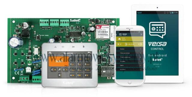 VERSA PLUS SATEL - manipulator INT-TSG-SSW, aplikacja mobilna Versa Control