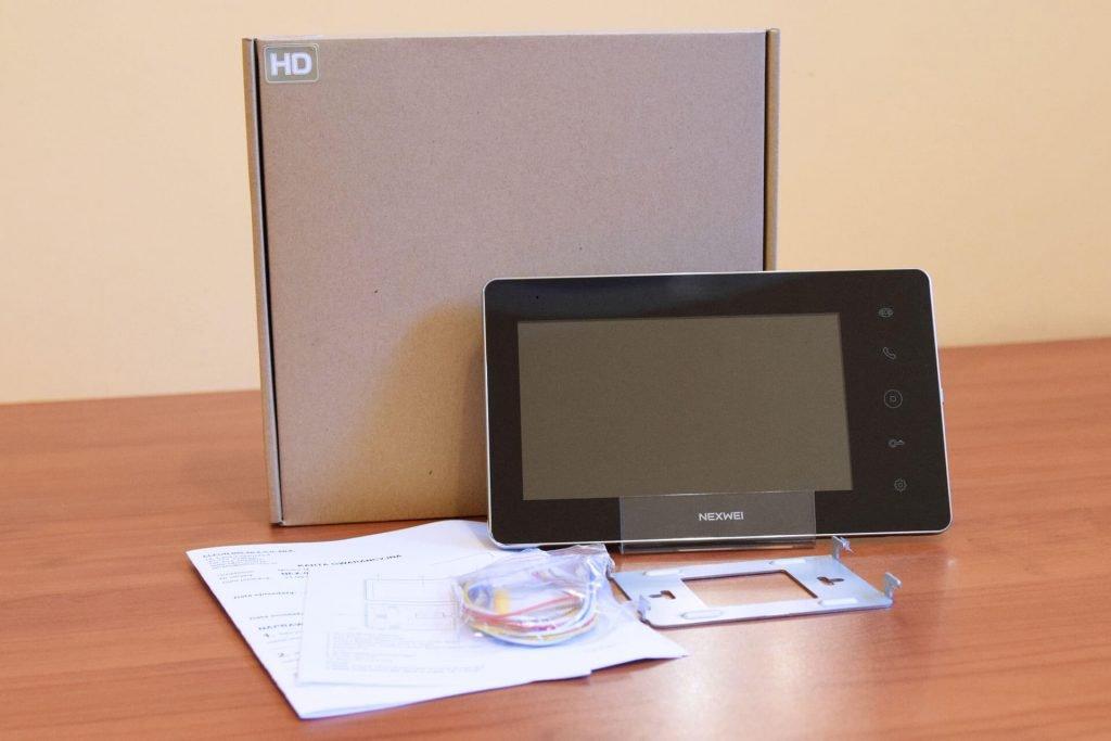 Nexwei NW-VI9S-B, wideodomofon