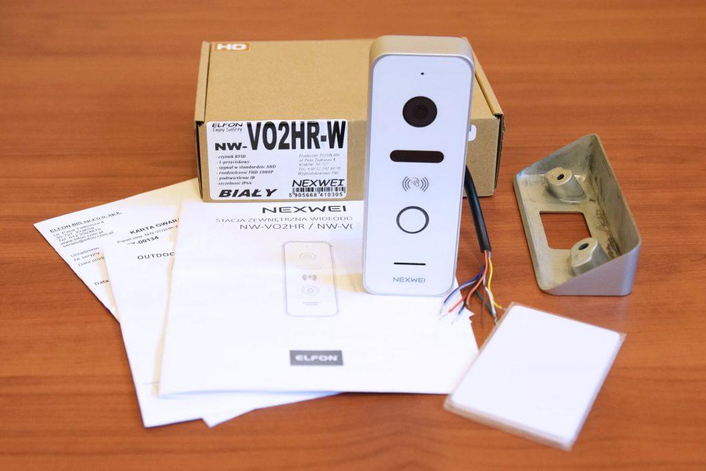 Nexwei NW-VO2HR-W, wideodomofon