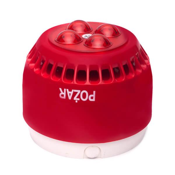 Sygnalizator akustyczno-optyczny typu SA-K7N firmy W2