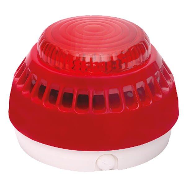 Sygnalizator akustyczny typu SA-K7N firmy W2 z dodatkowym zespołem diod sygnalizujących zadziałanie