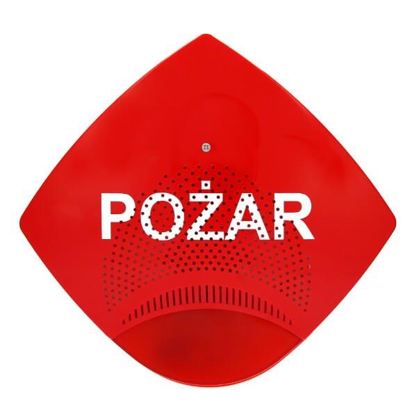Zewnętrzny sygnalizator akustyczno-optyczny typu SAOZ-Pk2