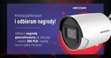 #instalujehikvision i odbieram nagrody!